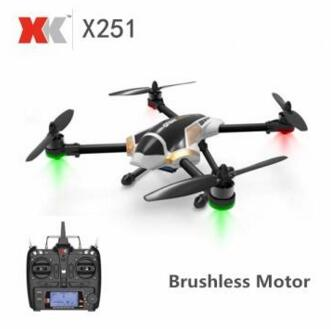 XK X251 X251-A 3D 6G Mode Brushless Motor RC Quadcopter