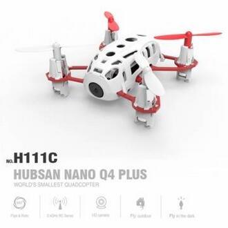 Hubsan H111C Nano Q4 Plus 3D Flips Drone