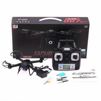 DM007 2.4G 4CH 6 Axis RC Quadcopter