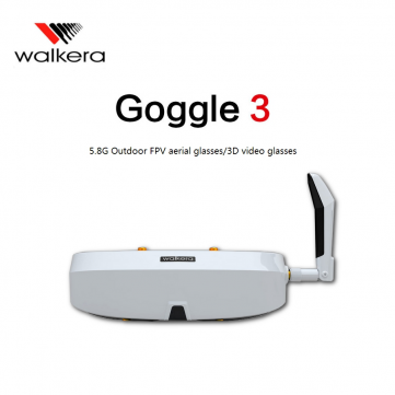 Walkera FPV Goggle 3 3D Video Glasses Goggles SVGA