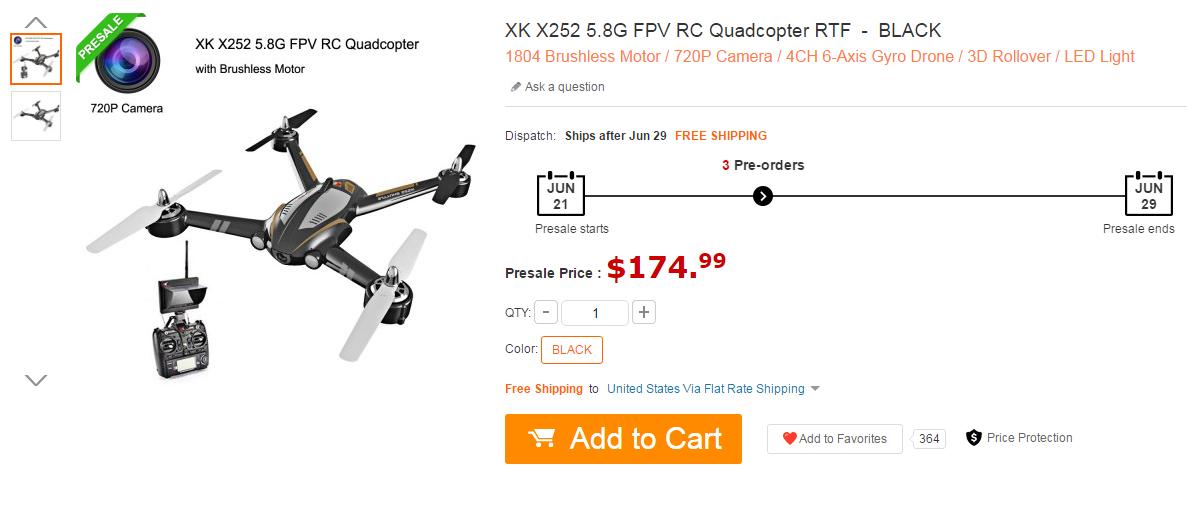 XK X252 FPV