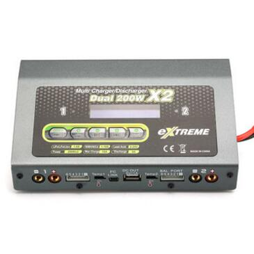 Extreme Dual 200W X2 DC Two Channel Output Multi Charger