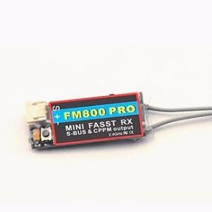 FM800 PRO 2.4G 8CH Mini Receiver with FUTABA FASST