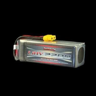 Infinity LIHV Series 200mAh 40C 6S1P Lipo Battery