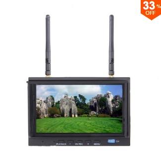 Skyzone SKY-700D FPV 5.8G 7 Inch TFT Monitor DVR