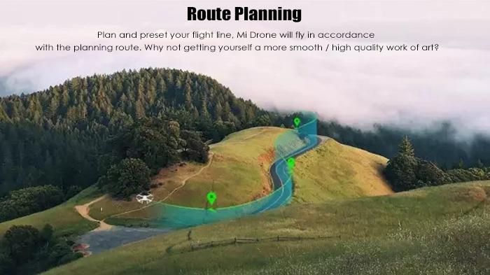 route planning - 47% OFF Buy XIAOMI Mi Drone 1080P WIFI FPV Quadcopter