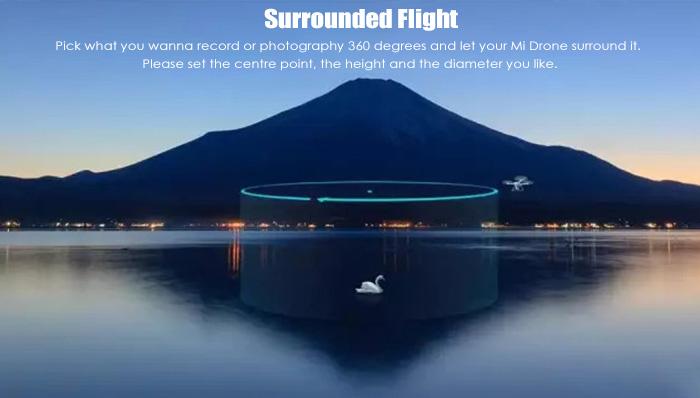 surrounded flight - 47% OFF Buy XIAOMI Mi Drone 1080P WIFI FPV Quadcopter