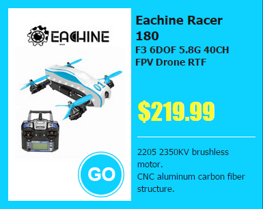 Eachine Racer 180 - Focus on Banggood 10th  Anniversary Party  : Sept 8th ~ Sept 10th