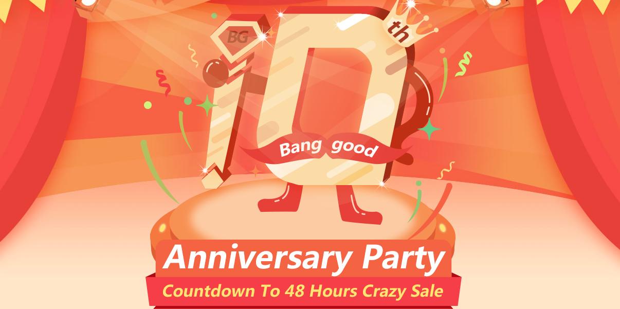 banggood 10th anniversary party