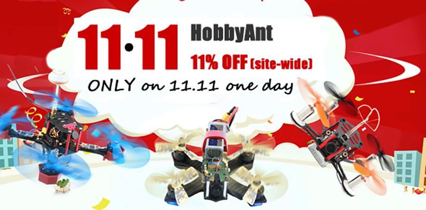 HobbyAnt 11.11 Deals
