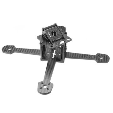 Realacc X200 199mm 4mm Arm Carbon Fiber FPV Racing Frame Kit