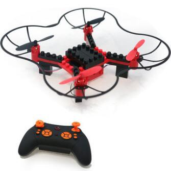 TFS T14 WIFI FPV DIY Building Blocks RC Quadcopter