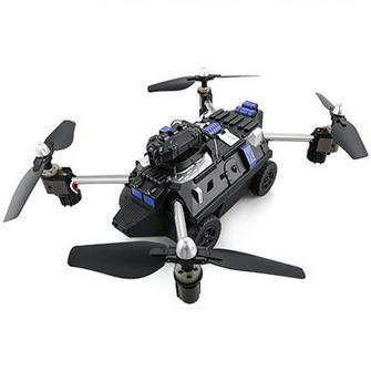 JJRC H40WH WIFI FPV RC Quadcopter Car