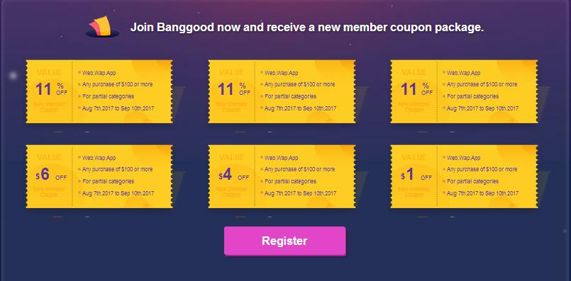6 - Joining Banggood's 11th Anniversary Shopping Carnival!
