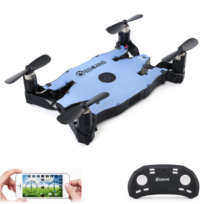 Eachine E57 WiFi FPV Selfie Drone Auto Foldable Arm Quadcopter