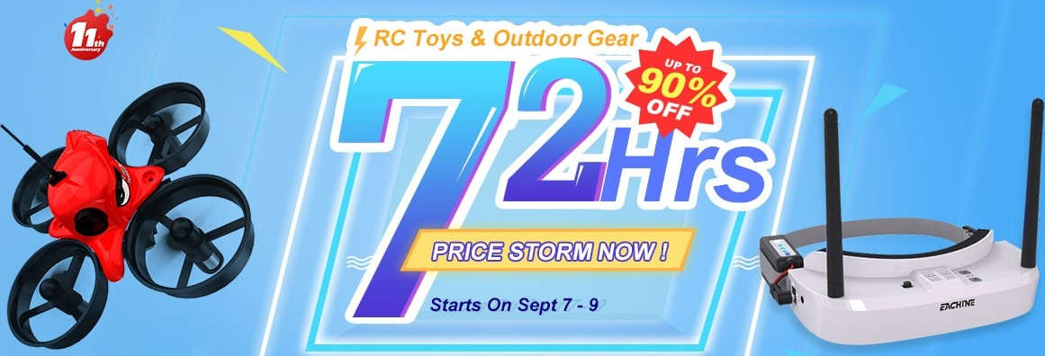 RC Toys 72 Hours Sale