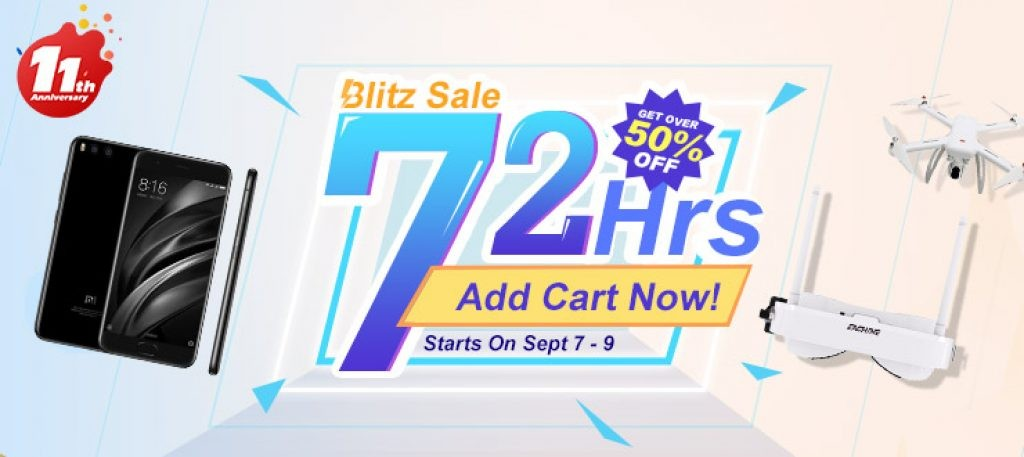 do you get ready for the 72 hours blitz sale at banggood - Do you Get Ready for the 72 Hours Blitz Sale at Banggood