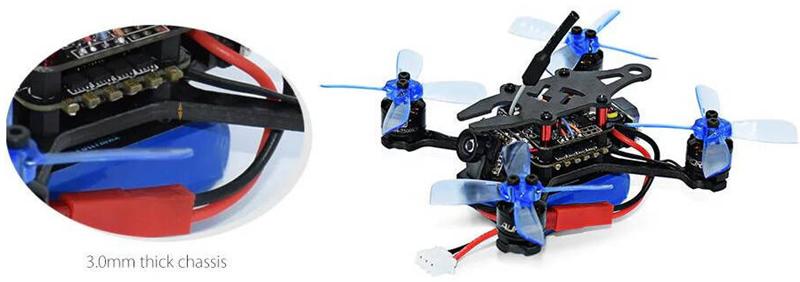 Arfun 95 Pro Picture 3 1 - Arfun 95 Pro 95mm F3 OSD 5.8G 40CH 25mW FPV Racing Drone