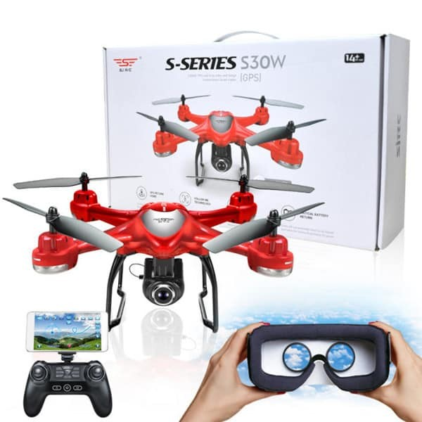 S-SERIES S30W Double GPS Dynamic FPV Quadcopter