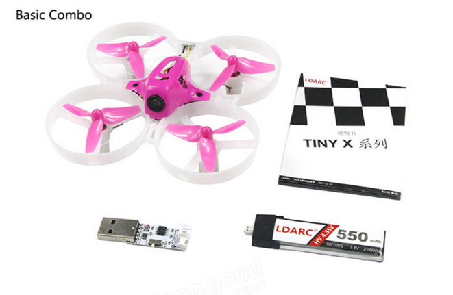LDARC TINY 8X 2 - LDARC TINY 8X 85mm FPV RC Quadcopter