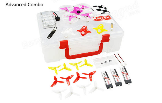 LDARC TINY 8X 3 - LDARC TINY 8X 85mm FPV RC Quadcopter
