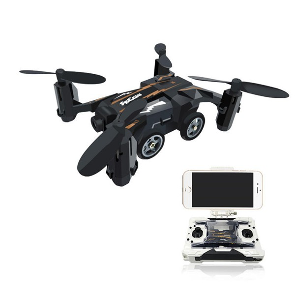 Flytec SBEGO 132W Mini Pocket FPV Flying Racing Quadcopter Car