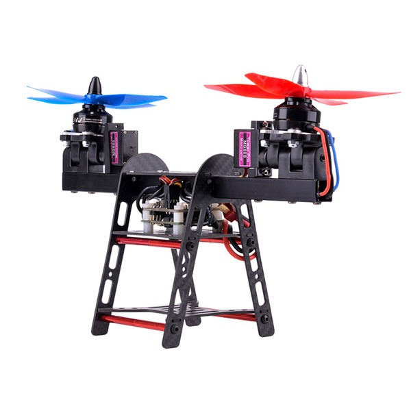 HJ-2502 250mm 2-Axis Carbon Fiber Aluminum Frame Kit