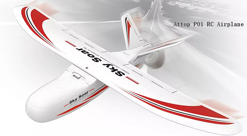 Attop P01 RTF Airplane - Attop P01 400mm Wingspan 2.4GHz RC Airplane