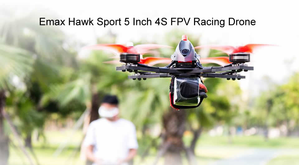 Emax-Hawk-Sport-5-Inch-4S-FPV-Racing-Drone-BNF-Version