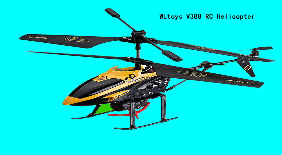 WLtoys V388 RC Helicopter - WLtoys V388 3.5CH Mini RC Helicopter