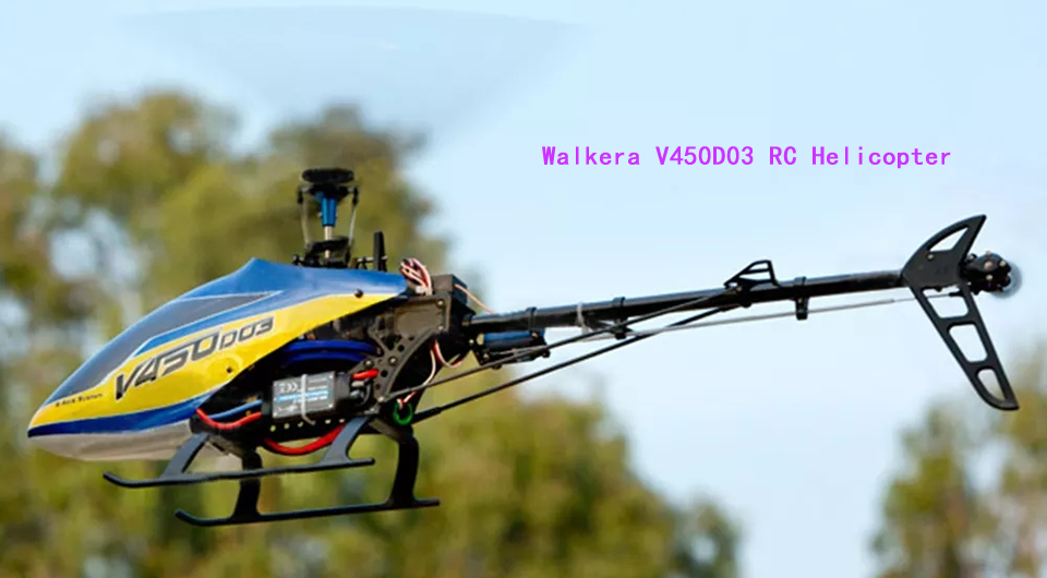 Walkera V450D03 RC Helicopter - Walkera V450D03 2.4G 6CH RC Helicopter
