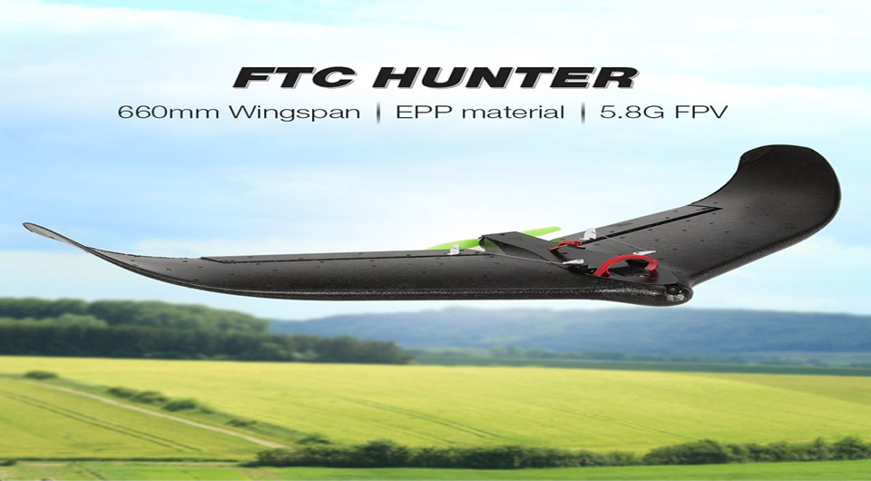 FTC-HUNTER-RC-Airplane