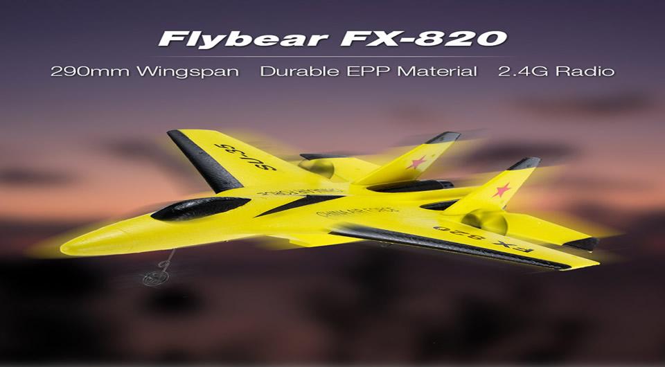 Flybear-FX-820-2.4G-2CH-RC-Airplane