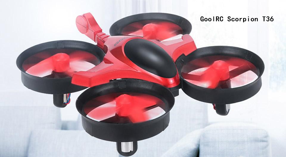 GoolRC-Scorpion-T36-Mini-Drone-Red