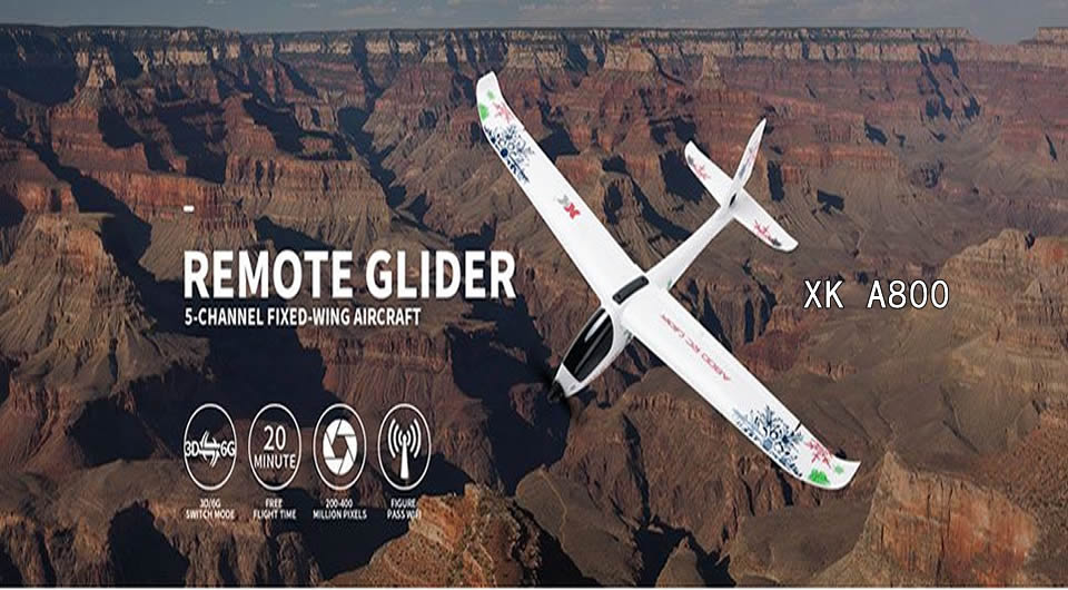 xk a800 remote control airplane 1 - XK A800 Fixed Wing 780mm RC Airplane