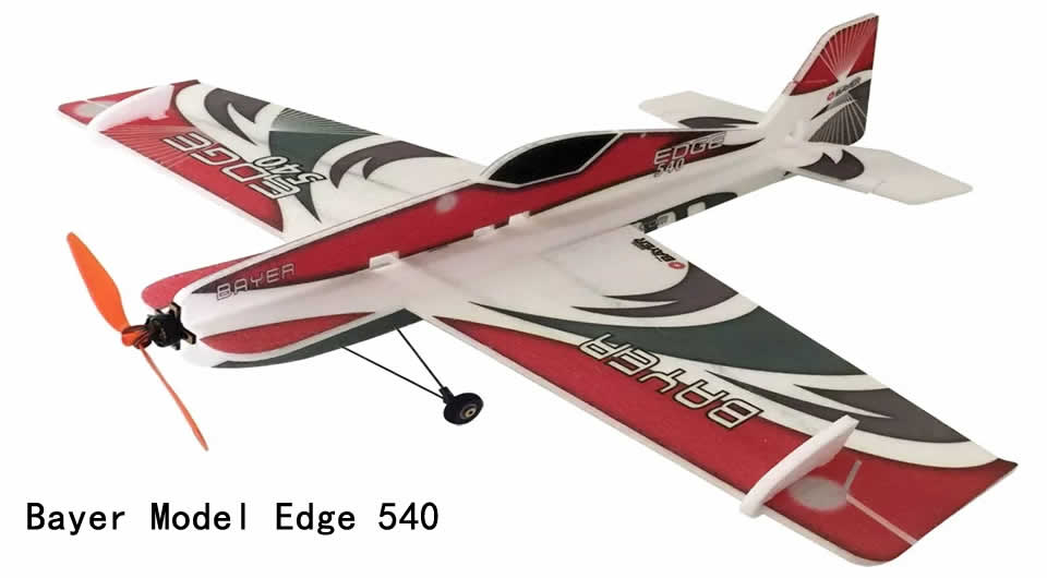 bayer-model-edge-540-rc-airplane