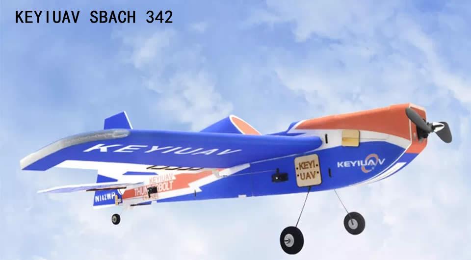 keyiuav-sbach-342-900mm-rc-airplane