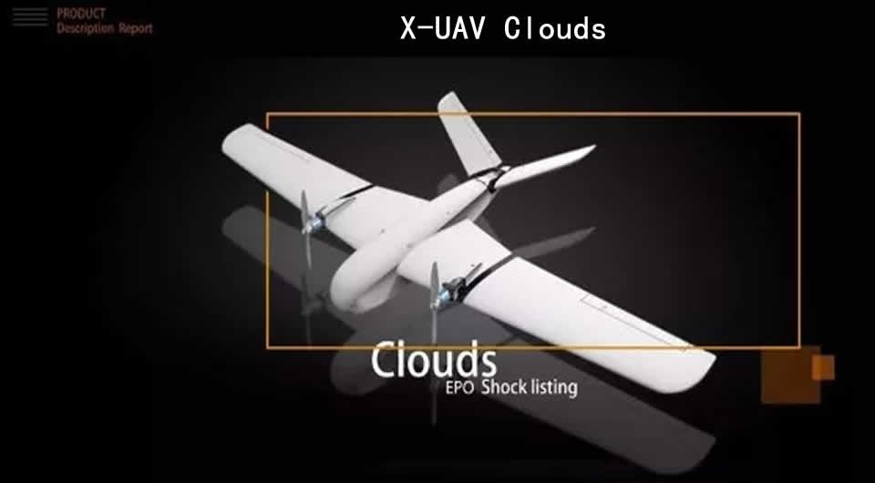 x-uav-clouds-rc-airplane