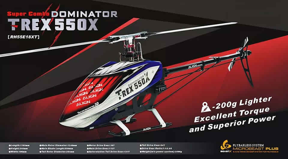 align-t-rex-550x-rc-helicopter