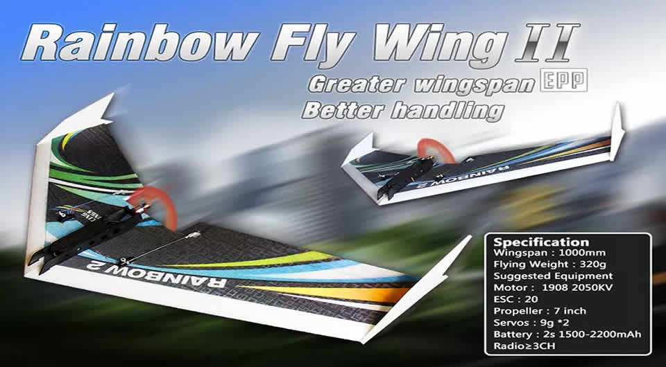dw-hobby-upgraded-rainbow-Ⅱ-rc-airplane