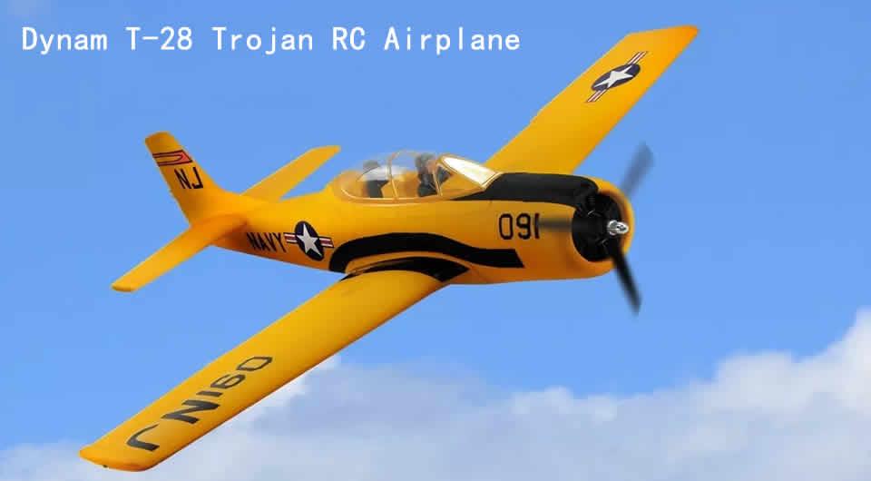 dynam-t-28-trojan-rc-airplane