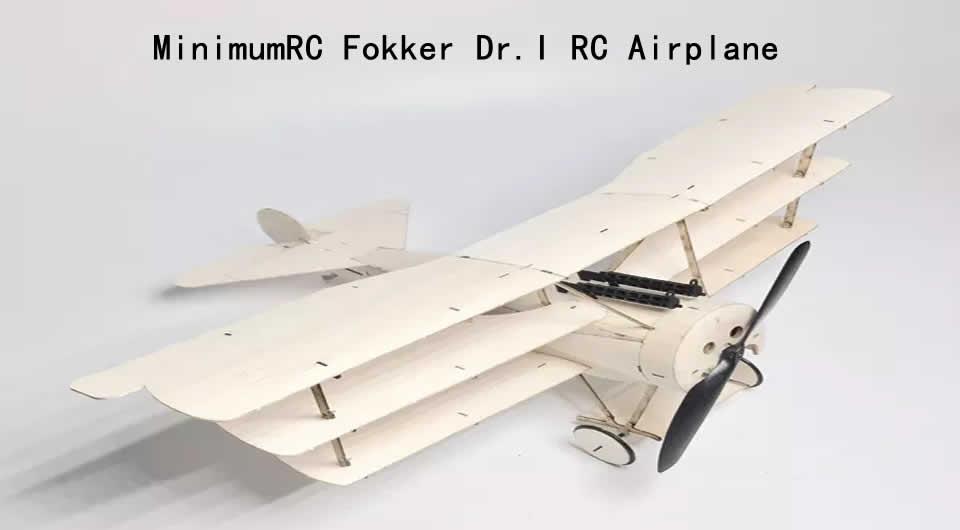 minimumrc-fokker-dr-i-rc-airplane