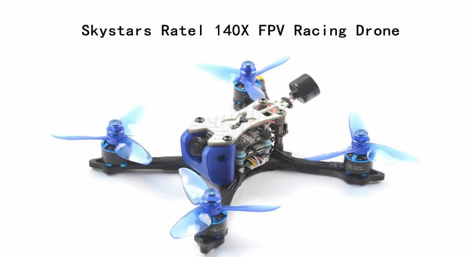 skystars-ratel-140x-fpv-racing-drone