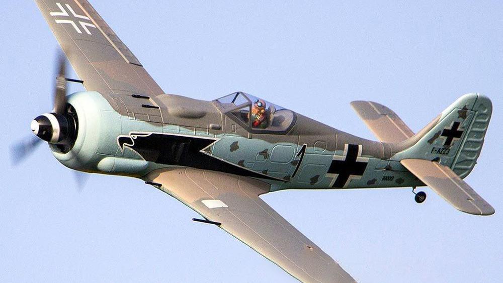 Dynam-Focke-Wulf FW-190-RC-Airplane