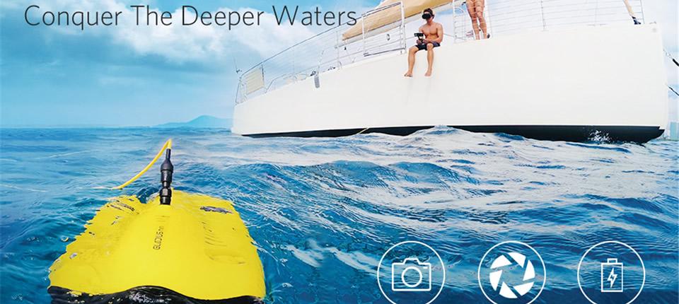 CHASING Gladius Mini Underwater Drone - CHASING Gladius Mini Underwater Drone
