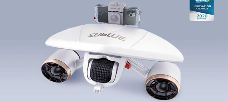 Sublue WhiteShark MixPro Underwater Scooter Drone - Sublue WhiteShark MixPro Underwater Scooter Drone