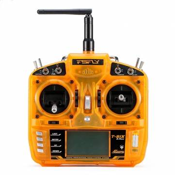 FsFly T-six 2.4GHz 6CH Transmitter For RC Models