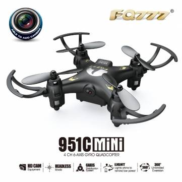 FQ777-951C MINI Drone With 0.3MP Camera