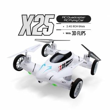 SY X25 RC Quadcopter Flying Car With 2.0MP Camera