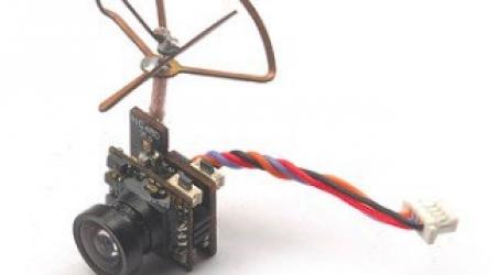 5.8g 25MW 48CH VTX 600TVL HD CMOS 1/4inch FPV Camera